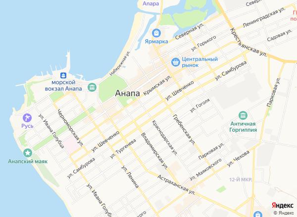 Объекты на карте