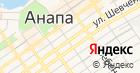 Продуктовый магазин на ул. Шевченко на карте