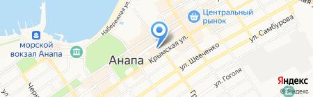 Городской театр на карте Анапы