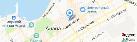 Prospekt на карте Анапы