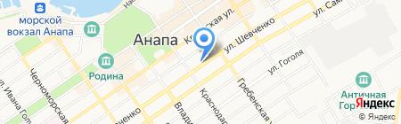 MacMade на карте Анапы
