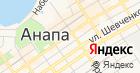 Отдел Военного комиссариата Краснодарского края по городу-курорту Анапа на карте