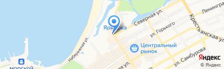 Банкомат Юго-Западный банк Сбербанка России на карте Анапы