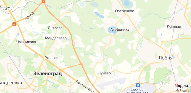 Владычино на карте