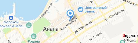 Единая Россия на карте Анапы