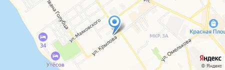 Бюро медико-социальной экспертизы по Краснодарскому краю на карте Анапы
