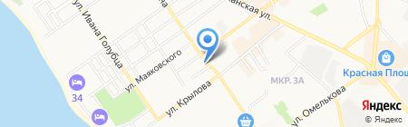 Магазин-мастерская головных уборов на карте Анапы