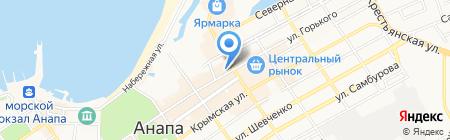 Александр Великий на карте Анапы