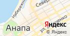 Анапский цирюльник на карте
