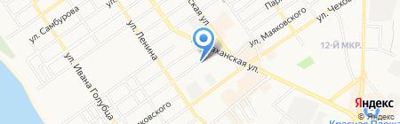 Банкомат Россельхозбанк на карте Анапы