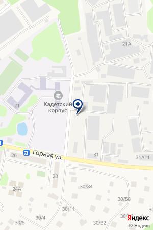 СХОДНЕНСКАЯ ШКОЛА-ИНТЕРНАТ на карте Химок