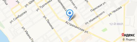 Алко Маркет на карте Анапы