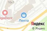 Схема проезда до компании Цветыш в Красногорске
