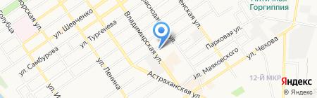 RusPranaFinance на карте Анапы