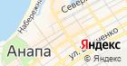 Магазин продуктов на Терской на карте