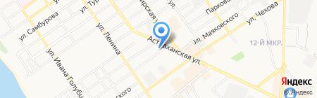 Плинтус на карте Анапы