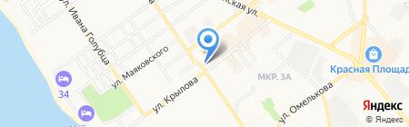 ЖАСО на карте Анапы