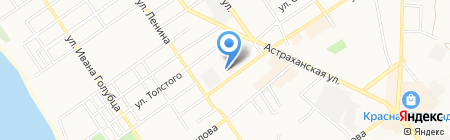 Анапаэнергосбыт на карте Анапы