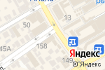 Схема проезда до компании МТС в Анапе