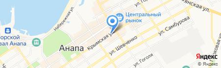 Русский аппетит на карте Анапы