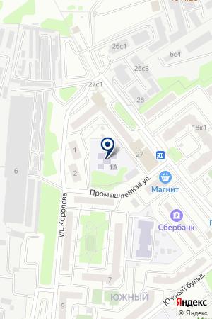 ГСК СОКОЛ на карте Красногорска