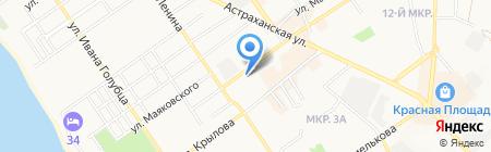 ВСК ОСАО на карте Анапы