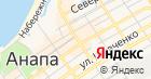 Запорожское на карте