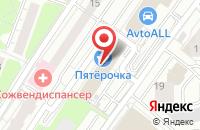 Схема проезда до компании Нухрик в Красногорске