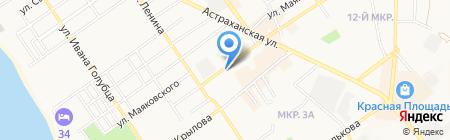 Старшина на карте Анапы