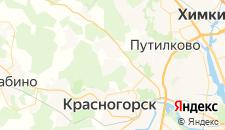Гостиницы города Ангелово на карте