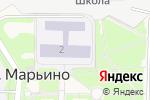 Схема проезда до компании Динамо в Марьино