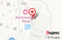 Схема проезда до компании Land Cruiser Club в Ангеловом