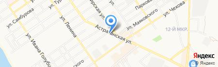 Семейный на карте Анапы
