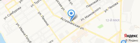 Кеша на карте Анапы