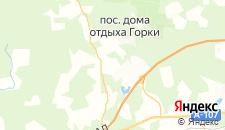 Отели города Гульнево на карте