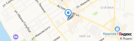 Зодчий двор на карте Анапы