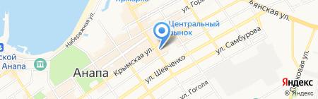 Анапский городской суд на карте Анапы