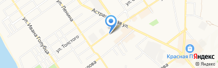 Кудесник на карте Анапы
