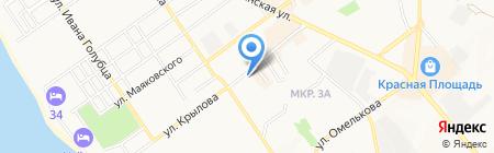 Анапский индустриальный техникум на карте Анапы