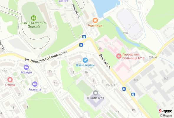 купить квартиру в ЖК Красногорская Ривьера