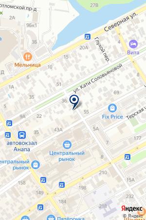 DED Mazay на карте Анапы