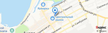 стоПУЛЬТов на карте Анапы
