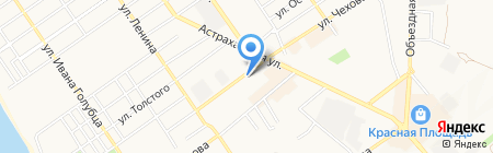 Юг Медиа на карте Анапы