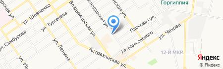 Ортомода Кубань-Юг на карте Анапы