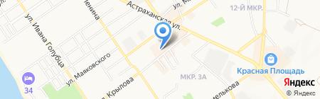 Интерьер на карте Анапы