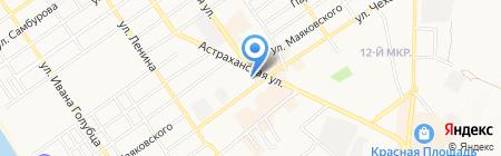 Усадьба пасечника на карте Анапы