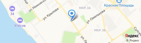 Отделочные материалы на карте Анапы