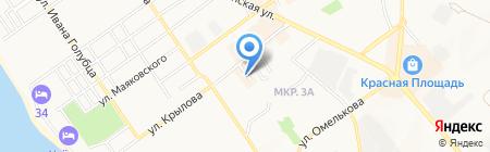 Сибирское здоровье на карте Анапы