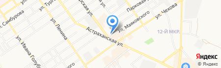 Адвокатский кабинет Цветкова А.В. на карте Анапы