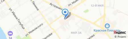 БЕСТ КЛИНИК на карте Анапы